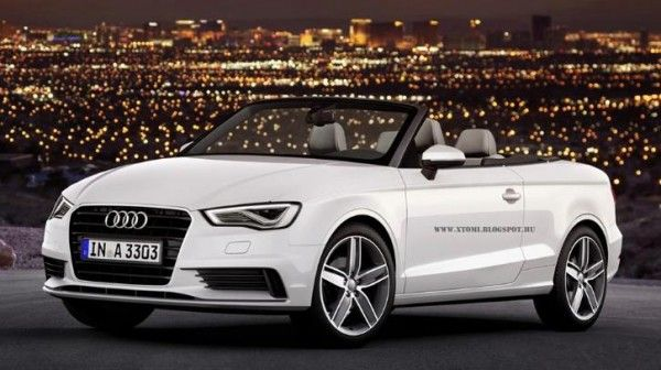 2014 Audi A3 Cabriolet White Design 600x336 2014 Audi A3 Cabriolet Specs, Price, with Images