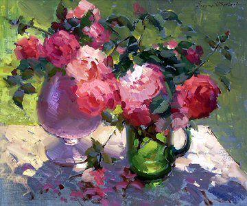 """""""Fresh cut roses""""   Ovanes Berberian"""