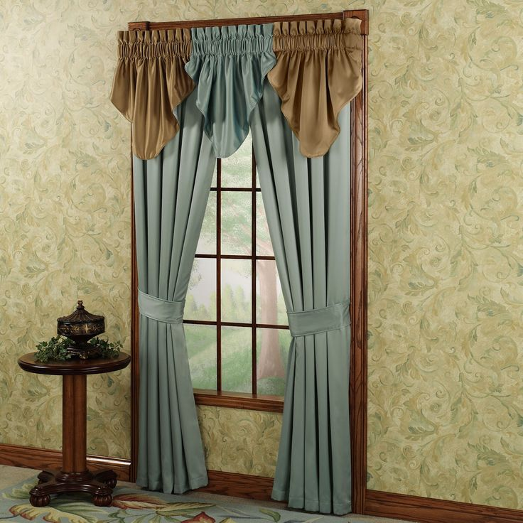 Adorn Your Windows With Rich Color Using The Elegant Color Classics(R)  Tailored Curtains. Lustrous Polyester Fabric Gives The Window Treatment  Sumptuous ...