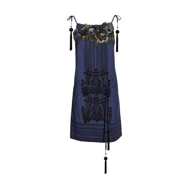Abiti Hoss Intropia : Vestito in cotone. - Leiweb ❤ liked on Polyvore featuring dresses
