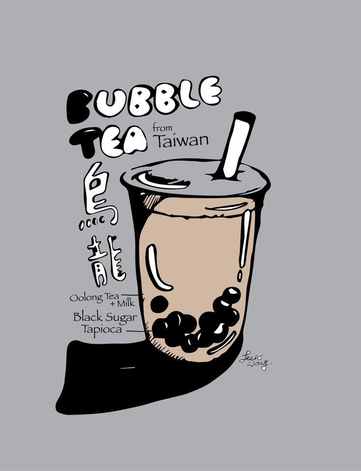 It is an image of Magic Boba Tea Drawing