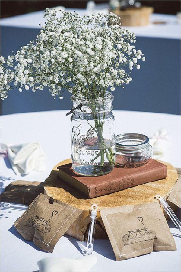 113 Best Ideas About Mason Jar Centerpiece On Pinterest