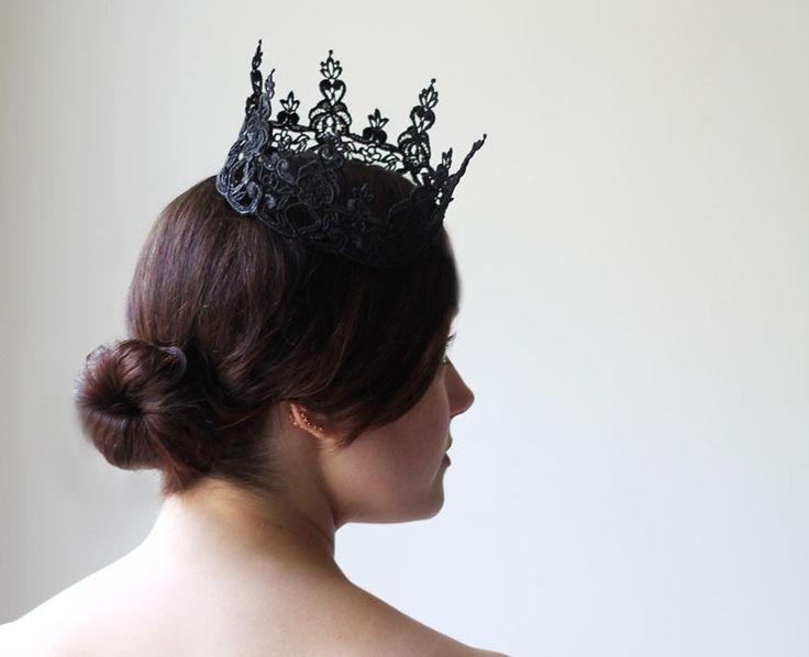 Кружевные короны для маленьких принцесс