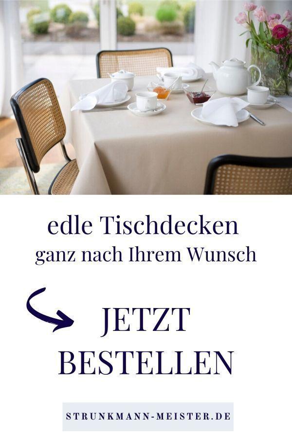Standardmasse Kann Jeder Wir Fertigen Ihre Tischdecke Nach Ihren Wunschmassen Tischdecke Tischwasche Tisch