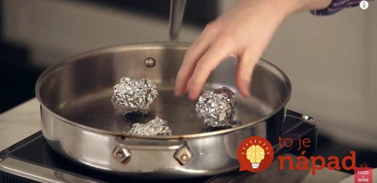 Kúsky alobalu vložil do panvice: Toto geniálny kuchársky trik zmení spôsob, akým pripravujete jedlo!