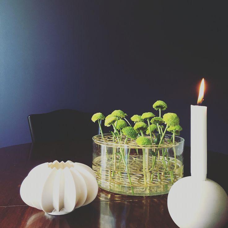 Stella Candleholder,Kähler. Äng vase, Klong @alexandrajordonez