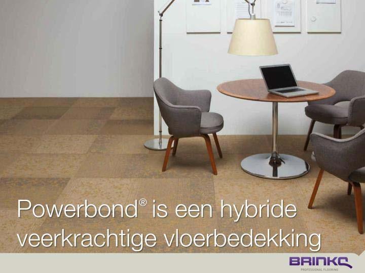 Hybride veerkrachtige vloerbedekking.