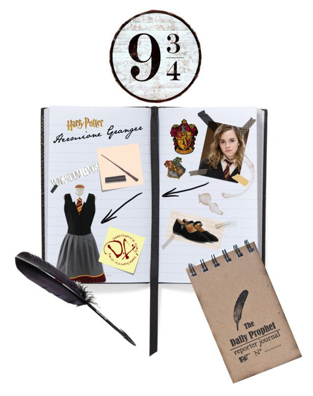"""Hermione Granger➰📚"" by ordinary-fashion on Polyvore featuring moda, Smythson, Emma Watson, Post-It, Maison Margiela ve The Row"