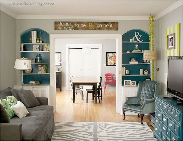 Teal Living Room Living Room Ideas Pinterest Shelves