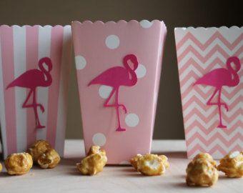Flamingo Confetti  Flamingo Party  Hawaiian by SimplyPaperPerfect