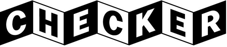 Checker typeface with contextual alternates by Nick Shinn.