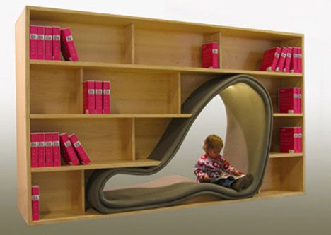 This Piece Of Furniture Called The Cave Bookshelf Amused Me At The Very  First Glimpse, And I Was Impressed To See How Innovative A Designer Could  Get!