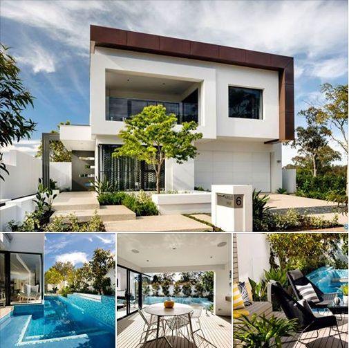 Cool Mesmerizing Luxury Home in Australia Flaunting Volumetric Ar