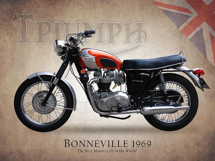 1969 Triumph Bonneville Sun & Fun Motorsports 155 Escort LN, Iowa City, Iowa 319-338-1077