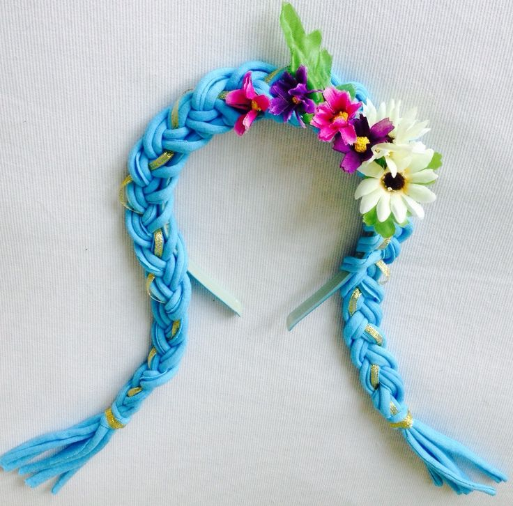 flores en tela para vinchas - Buscar con Google