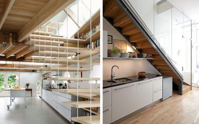 Las 25 mejores ideas sobre el hueco bajo las escaleras en for Aprovechar hueco escalera duplex