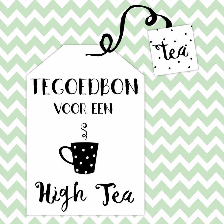 Tegoedbon High Tea - WW, verkrijgbaar bij #kaartje2go voor € 1,99