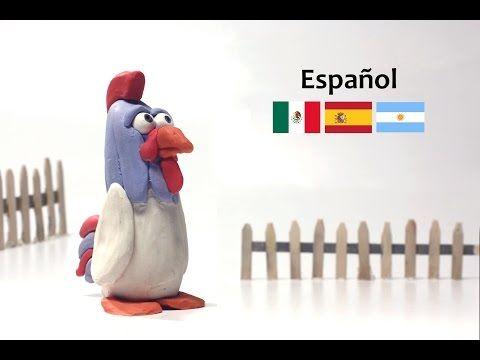 Cómo hacer un gallo de plastilina – Animales de granja – Julián, el Gallo - YouTube
