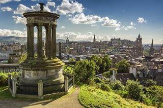 Edinburgh, capital da Escócia, Reino Unido