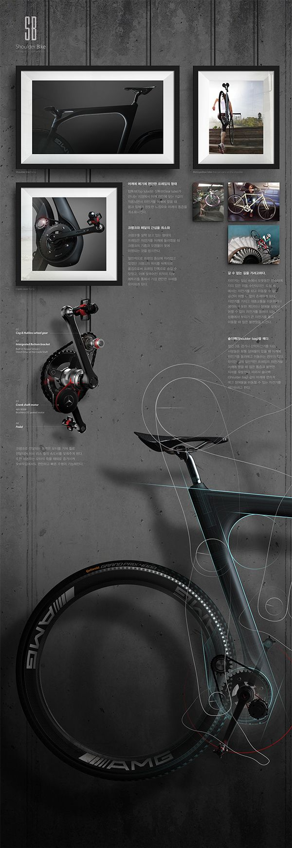 Shoulder Bike_Ver.2 on Industrial Design Served