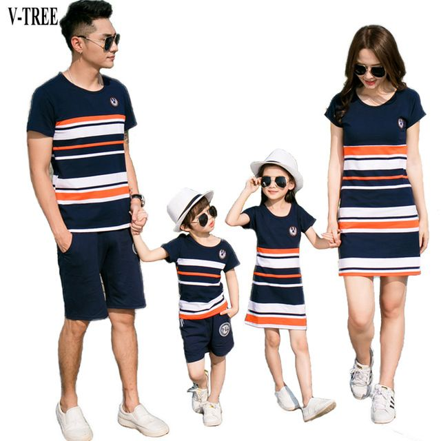 Special offer V-TREE Summer Family Matching Outfits T Shirt+short For Father& Kids Son Costumes Mother Daughter Dresses Baby Clothing Set just only $10.58 - 15.58 with free shipping worldwide  #boysclothing Plese click on picture to see our special price for you