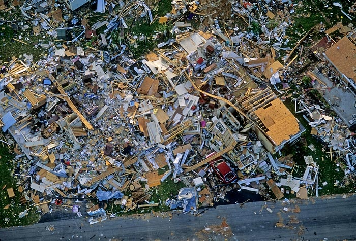 Hurricane Andrew Aftermath for National Geographic
