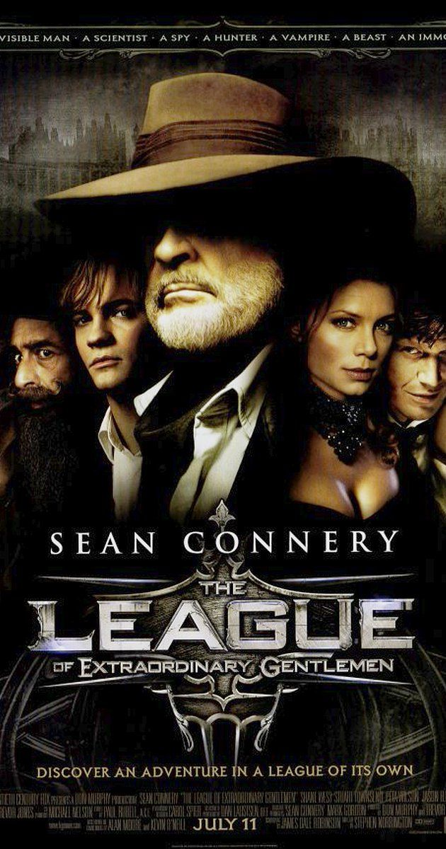 Directed by Stephen Norrington.  With Sean Connery, Stuart Townsend, Peta Wilson, Jason Flemyng. In an alternate Victorian Age world, a group of famous contemporary fantasy, science fiction, and adventure characters team up on a secret mission.
