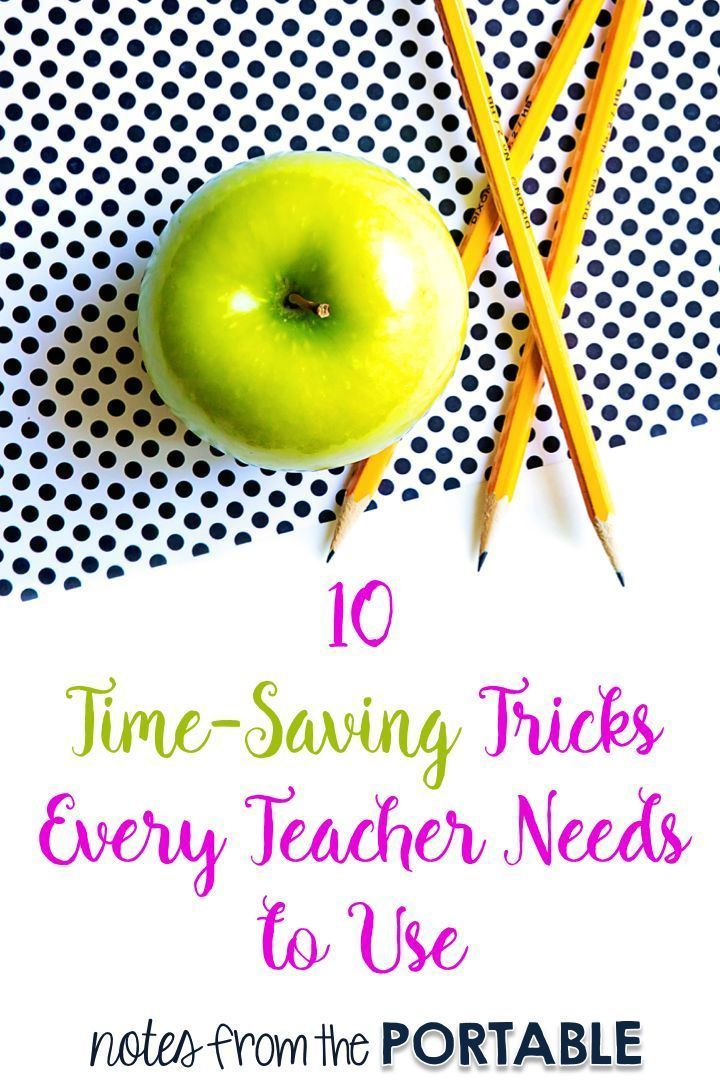 10 Time Saving Tips Every Teacher Needs to Know. These simple tips saved me so much time and sanity in my classroom.