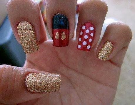10 images about disney nails on pinterest  nail art