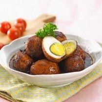 Resep telur bumbu rawon special dan gurih