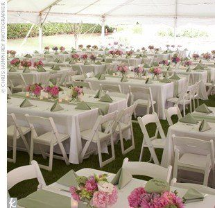 From round tables to rectangular tables....lower in the comments has tablecloth sizes