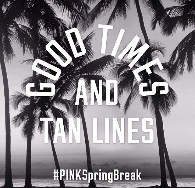 Spring break!!                                                                                                                                                     More
