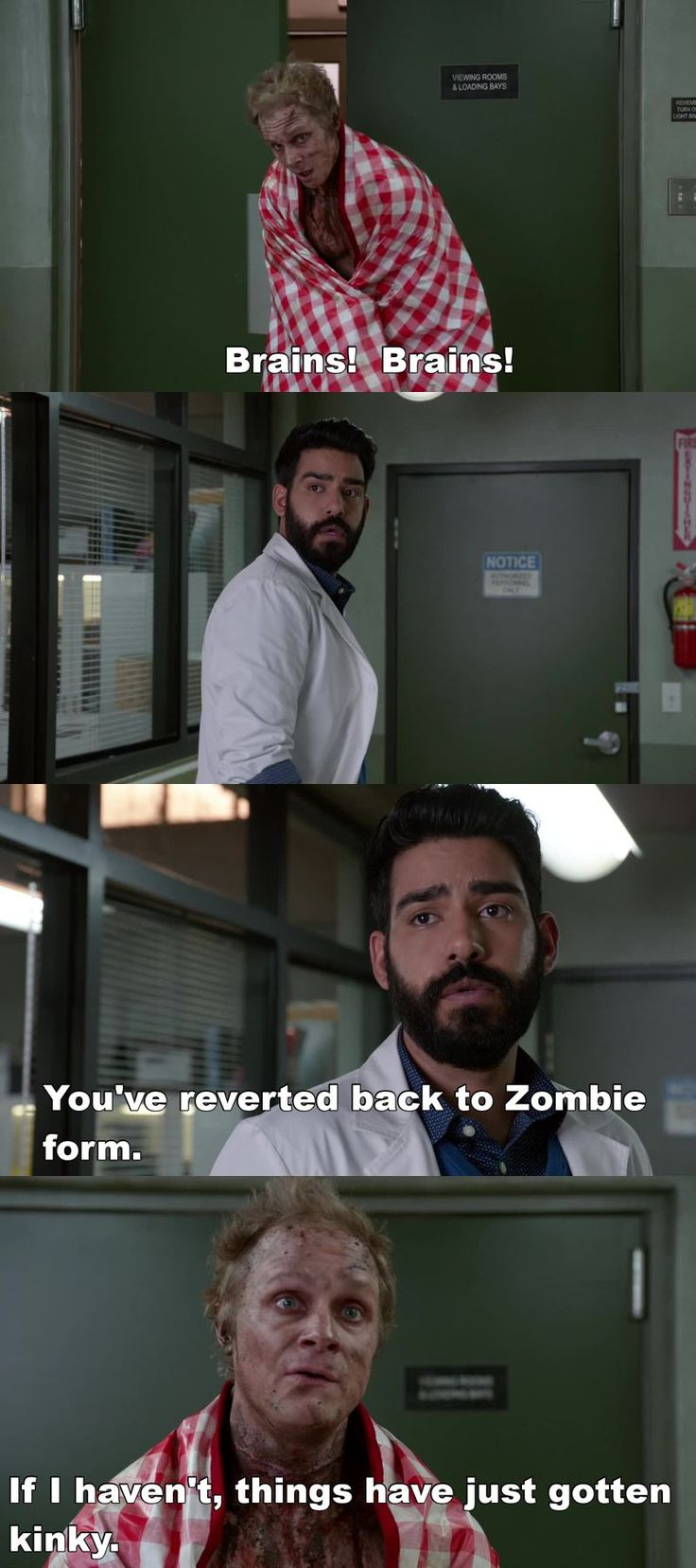 """#iZombie 2x15 """"He Blinded Me With Science"""" - Blaine and Ravi"""