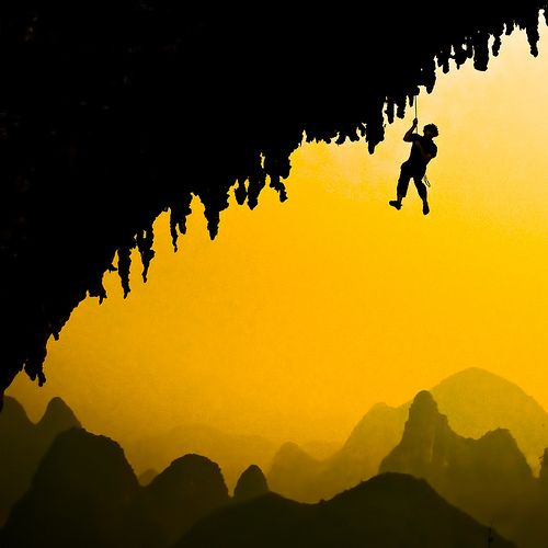 .: Climbing, Sumptuous Silhouette, Climbers, The Edge, Photography Group, Extreme Things, Extreme Planets, Silhouette Photography, China Bi
