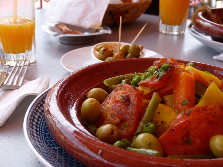 Tajine in the old medina of Marrakesh.