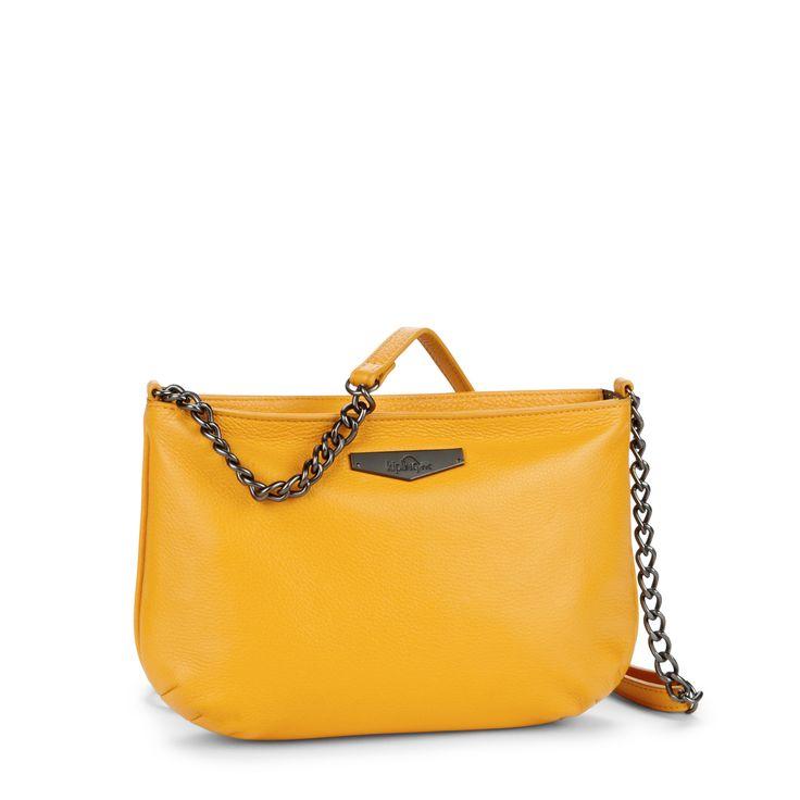 Kipling Yellow Over The Shoulder Bag