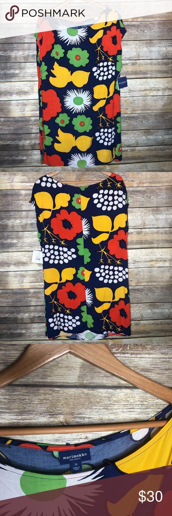 Marimekko target plus 1x tunic dress top cover up …