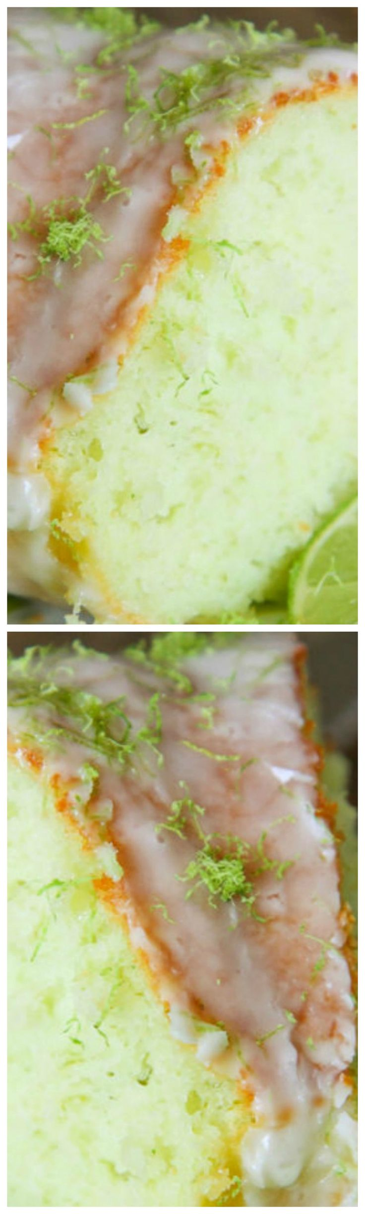 Lime Bundt Cake Recipe ~ The ingredients for this cake are so simple and it tastes incredible!