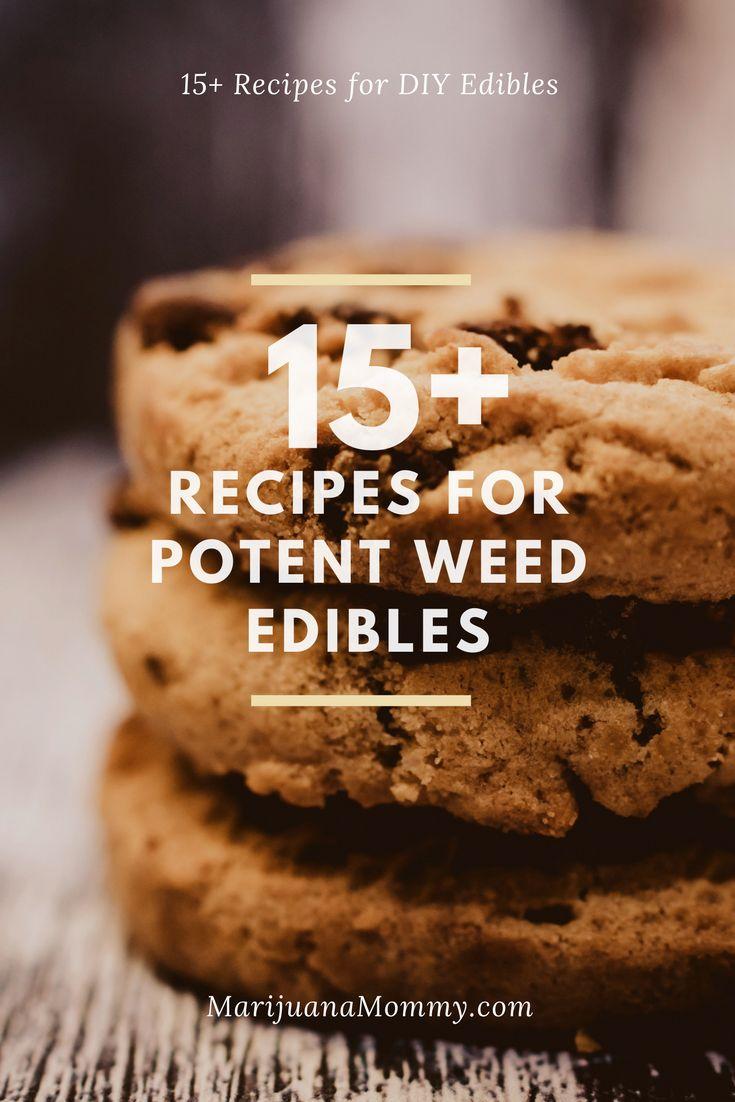 15+ Recipes to Make Cannabis Edibles at Home