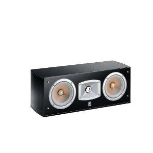 Yamaha NS C 444 Center Lautsprecher (2-Wege Centerlautsprecher, akustische Aufhängung, Doppelwoofer) klavierlackschwarz: Amazon.de: Audio & HiFi