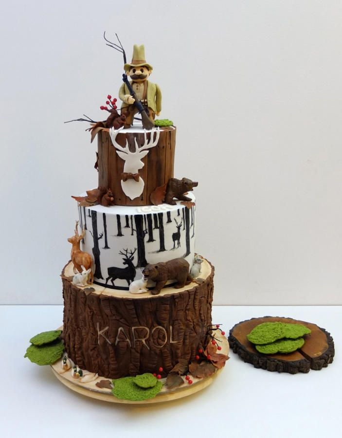 Birthday cake for huntsman by SWEET architect