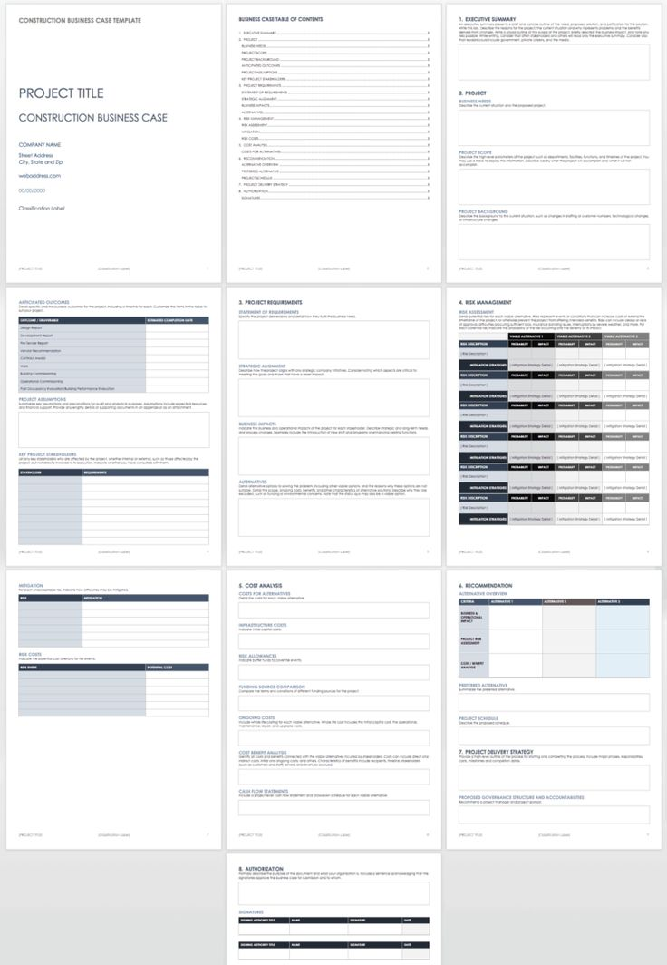 Free Business Case Templates Smartsheet throughout