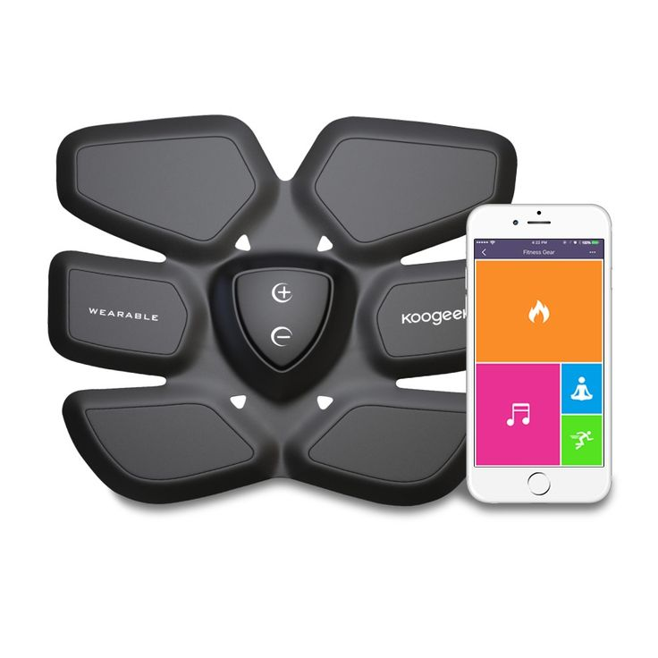 High Quality Koogeek Smart Fitness Gear Fat Burning with Wireless Charging Pad…