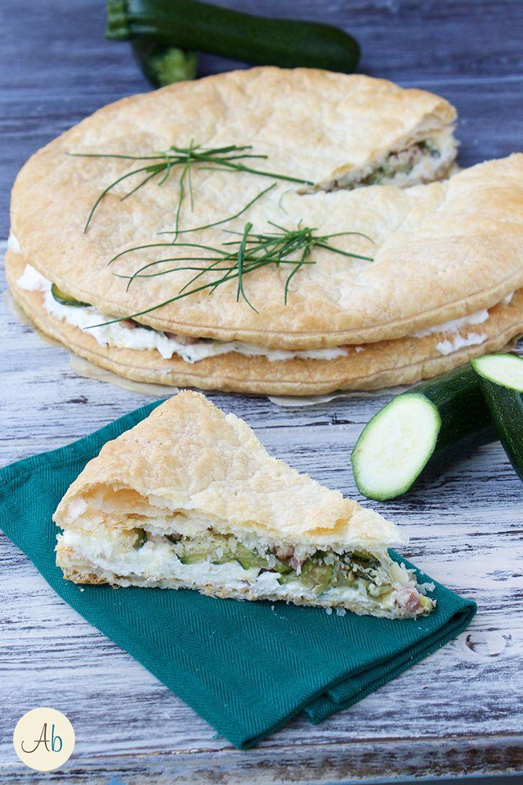 Torta Salata al Formaggio Cremoso | Aryblue