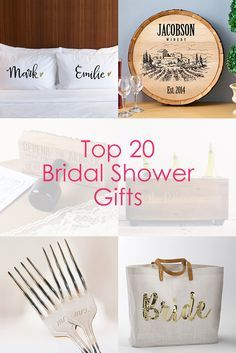 Attending a bridal shower? Find the best bridal shower gifts all in one place!