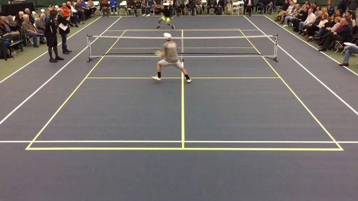 Kyle Yates vs. Frank Anthony Davis - 5.0 Pickleball Singles Highlights -...