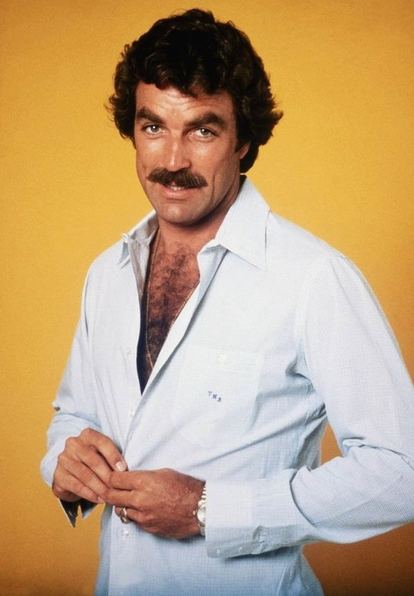 Vintage Beefcake Tom Selleck: Can You Resist The Power Of His Mustache? | Lovelyish
