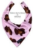 Babero VERANO Leopardo Rosa