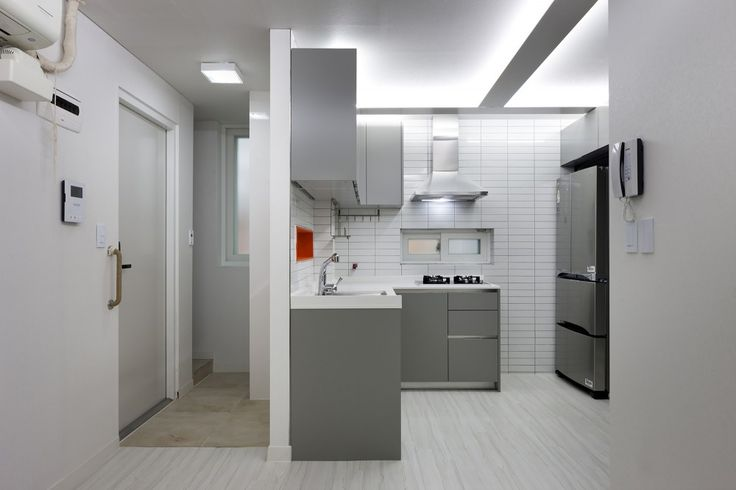 Suo Jae The House To Uphold Myself Studio Gaon Korean Apartment Interior Small Tiny Apartments Small Apartments
