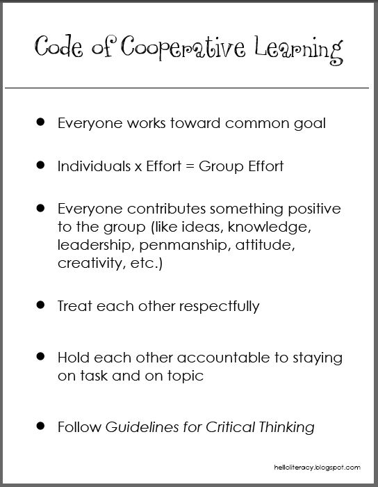 67 best Productive Group Work images on Pinterest Group work - code of conduct example